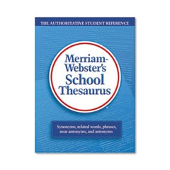 School Thesaurus, Grades 9-11, Hardcover, 704 Pages