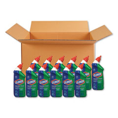 Toilet Bowl Cleaner with Bleach, Fresh Scent, 24oz Bottle, 12/Carton
