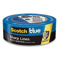 "Ultra Sharp Lines Multi-Surface Painter's Tape, 3"" Core, 1.41"" x 45 yds, Blue"