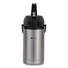 3 Liter Lever Action Airpot, Stainless Steel/Black