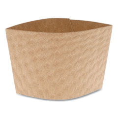 Cup Sleeve, Fits 12-24 oz Cups, Kraft, 1,000/Carton