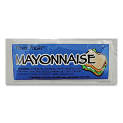 Condiment Packets, Mayonnaise, 0.32 oz Packet, 200/Carton