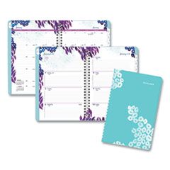 Wild Washes Weekly/Monthly Planner, 8.5 x 5.5, Floral, Animal, 2021