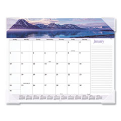 At-A-Glance Landscape Panoramic Desk Pad, 22 X 17, Landscapes, 2020