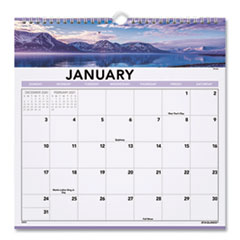 At-A-Glance Landscape Monthly Wall Calendar, 12 X 12, 2020