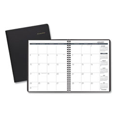 Monthly Planner, 6 7/8 x 8 3/4, Black, 2016