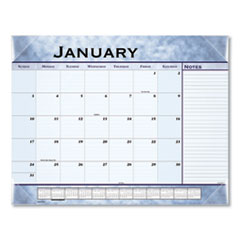 At-A-Glance Slate Blue Desk Pad, 22 X 17, Slate Blue , 2020