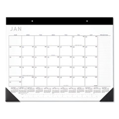 Contemporary Monthly Desk Pad, 22 x 17, 2021