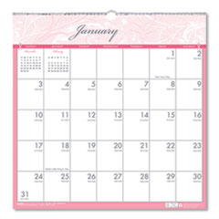 Recycled Breast Cancer Awareness Monthly Wall Calendar, 12 x 12, 2021