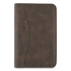 Distressed Brown Leather Starter Set, 6.75 x 3.75, Brown