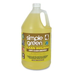 Clean Building Carpet Cleaner Concentrate, Unscented, 1gal Bottle