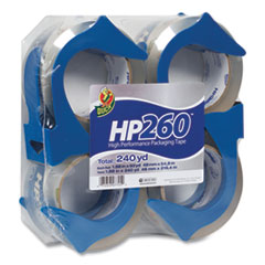 HP260 Packaging Tape with Dispenser, 3