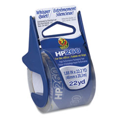 "HP260 Packaging Tape with Dispenser, 1.5"" Core, 1.88"" x 22.2 yds, Clear, 6/Pack"