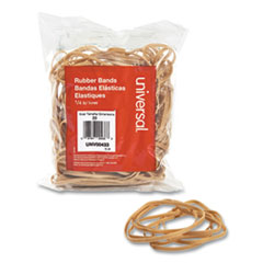 "Rubber Bands, Size 33, 0.04"" Gauge, Beige, 4 oz Box, 160/Pack"