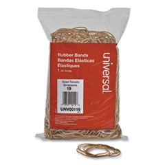RUBBERBANDS,SIZE 19,1LB