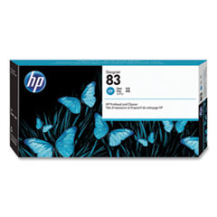 HP 83, (C4961A) UV Cyan Printhead and Cleaner