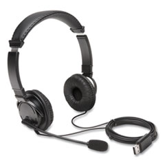 Hi-Fi Headphones with Microphone, Black