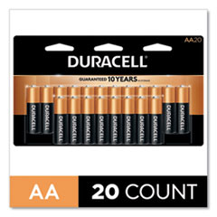 CopperTop Alkaline AA Batteries, 20/Pack
