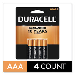 CopperTop Alkaline AAA Batteries, 4/Pack