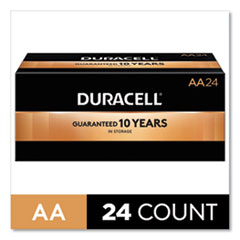 CopperTop Alkaline AA Batteries, 24/Box