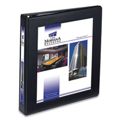 "Framed View Heavy-Duty Binders, 3 Rings, 1"" Capacity, 11 x 8.5, Black"