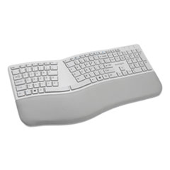 Pro Fit Ergo Wireless Keyboard, 18.98 x 9.92 x 1.5, Gray