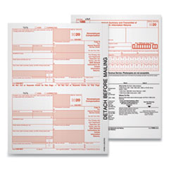 5-Part 1099-MISC Tax Forms, 8.5 x 11, 50/Pack