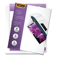 "ImageLast Laminating Pouches with UV Protection, 3 mil, 9"" x 11.5"", Clear, 25/Pack"
