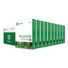 Recycled30 Paper, 92 Bright, 20lb, 8.5 x 11, White, 500 Sheets/Ream, 10 Reams/Carton