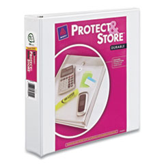 Protect and Store Durable View Binder with Slant Rings, 3 Rings, 1.5