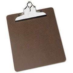 "7520002815918, Composition Board Clipboard, 5 1/2"" Metal Clip, 9"" x 12 1/2"""