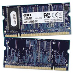 RAM Memory for B400 Series, 32MB