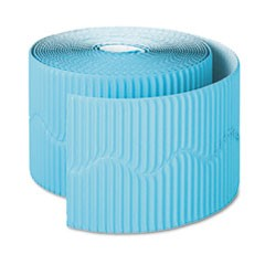 "Bordette Decorative Border, 2 1/4"" x 50' Roll, Azure Blue"