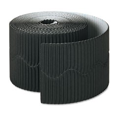 "Bordette Decorative Border, 2 1/4"" x 50' Roll, Black"