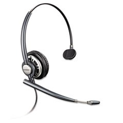 EncorePro Premium Monaural Over-the-Head Headset w/Noise Canceling Microphone