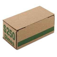 BOX,DIMES,$250/CAP 50CT