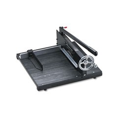 "Commercial Stack Paper Cutter, 350 Sheet Capacity, Wood Base, 16"" x 20"""