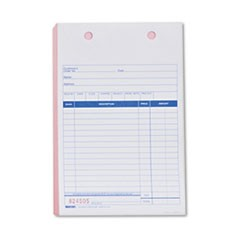 Sales Form for Registers, 5 1/2 x 8 1/2, Blue Print Three-Part, 500 Forms