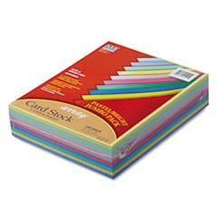 Array Card Stock, 65lb, 8.5 x 11, Assorted, 250/Pack