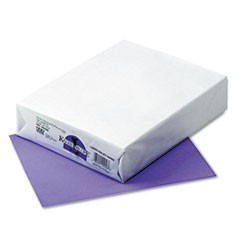 Kaleidoscope Multipurpose Colored Paper, 24lb, 8.5 x 11, Violet, 500/Ream
