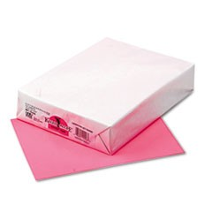 Kaleidoscope Multipurpose Colored Paper, 24lb, 8.5 x 11, Hyper Pink, 500/Ream