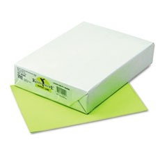 Kaleidoscope Multipurpose Colored Paper, 24lb, 8.5 x 11, Hyper Lime, 500/Ream
