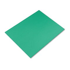 Four-Ply Railroad Board, 22 x 28, Holiday Green, 25/Carton