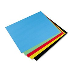 Colored Four-Ply Poster Board, 28 x 22, Assortment, 25/Carton