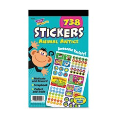 Sticker Assortment Pack, Animal Antics, 738 Stickers/Pad