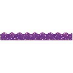 "Terrific Trimmers Sparkle Border, 2 1/4"" x 39"" Panels, Purple, 10/Set"