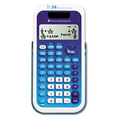 TI-34 MultiView Scientific Calculator, 16-Digit LCD