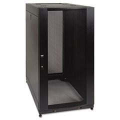 SmartRack Standard-Depth Server Rack Enclosure Cabinet, 25U, 3000 lbs Capacity