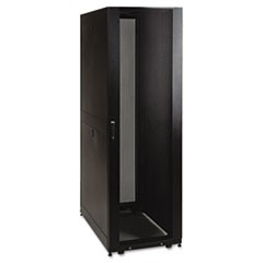 SmartRack Standard-Depth Rack Enclosure Cabinet, 48U, 3000 lbs Capacity