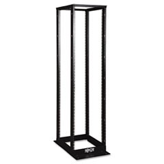SmartRack 4-Post Open Frame Rack, 45U, 1000 lbs Capacity